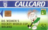 IRLANDE IRELAND WOMENS HOCKEY WORLD CUP 50U UT - Irlande