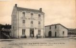 ENVIRONS DE LA CHAISE-DIEU HOTEL MARTIN A SEMBADEL GARE AU MILIEU DU BOIS NOIR - France