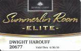 Rampart Casino Las Vegas - 2010 Summerlin Room Elite Slot Card - Casino Cards