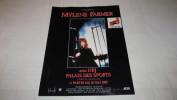 MYLENE FARMER AU PALAIS DES SPORTS - ISSUE DU MAGAZINE ROLLING STONE DE MARS / AVRIL 1989. - Vieux Papiers