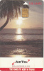 SEYCHELLES ISL.(chip) - Sunset, AIRTEL Telecard First Issue 100 Units, Used - Seychelles