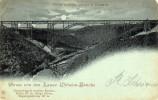 Kaiser Wilhelm-Brucke Bei Mungsten (pont Ferroviaire) Voyagée En 1898 - Solingen