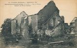 MONTCEAUX LES PROVINS - GUERRE 1914-18 - Rue De Brangy - Intérieur De Ferme Incendiée - Otros Municipios