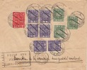Poland / Airmail Company Letter 1934 / 10 Fold With Postage - 1919-1939 Republik