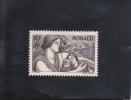 PROTECTION DE LA MèRE ET DE L´ENFANT NEUF * 10F + 8F GRIS-BRUN N° 224 YVERT ET TELLIER 1941 - Unused Stamps