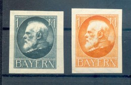 Bayern UNVERAUSGABTE 175/176BI OHNE AUFDRUCK * MH 30EUR (73019 - Bavaria