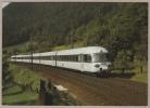 SBB - CFF Rame Quadricourant Eurocity (ex TEE) RABe 1055 - Erstfeld, 22.9.1988 - Train - Railway - Trenes