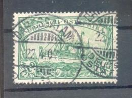 DOA 20 LUXUS Gest. 100EUR (F1594 - Kolonie: Deutsch-Ostafrika