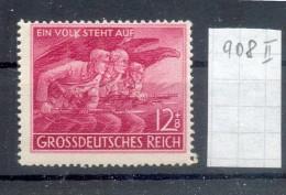 DR-3.Reich 908II ABART**POSTFRISCH 80EUR (E5817 - Deutschland
