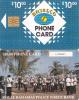 BAHAMAS ISL.(chip) - Royal Bahamas Police Force Band(BAH C6D), Small Number In Box, Chip GEM1, Used