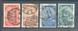 DR-WEIMAR 351/54 SATZ Gest. 100EUR (F2302 - Deutschland