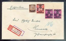 GG KOZLOW Not-R Zettel (R2559 - Occupation 1938-45