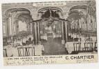 T952 - Bouillon C Chartier - Une Des Grandes Salles - 21 Rue Du Pont-neuf Paris - Tortue Géante - Pubs, Hotels, Restaurants
