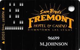 Fremont Casino Las Vegas - 11th Issue Slot Card - Casino Cards