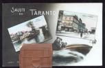 TARANTO - INIZI 900 - CARTOLINA A VALIGETTA CON 10 VEDUTINE - NON VIAGGIATA. - Taranto