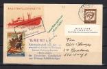 Rocket Mail 1962 Schifsfriedhof Grosser Vogelsand Seenot Rettungskeuzer SCARCE ONE!! (ra61) - Unclassified