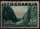 Canyon River Vardar - Demir Kapija / Yugoslavia 1930´s - MH - Games