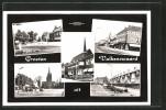 AK Valkenswaard, Markt M. Gemeentehuis, Wilhelminapark Und Eindhovenseweg - Valkenswaard