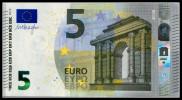"5 EURO ""VA"" SPAIN Firma DRAGHI V005 - EURO"