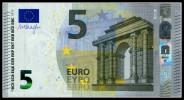 "5 EURO ""VA"" SPAIN Firma DRAGHI V006 - EURO"