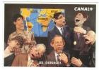 Publicité // Carte Publicitaire Canal+  Les Guignols - Pubblicitari
