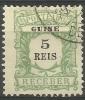 Portuguese Guinea - 1911 Postage Due 5r Used   Sc J11 - Portuguese Guinea
