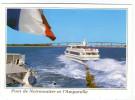 CPM     85            NOIRMOUTIER         L AMPORELLE         L E PONT - Barche