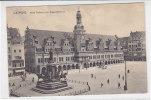 Leipzig - Altes Rathaus Mit Siegesdenkmal - Um 1910 - Leipzig