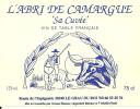 ETIQUETTE 30 LE GRAU DU ROI ABRI DE CAMARGUE VIN GARDIAN TAUREAU CAVES BESSAC CHATEAUNEUF DU PAPE 84 PUBLICITE CAMARGUE - Taureaux