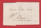 Lettre   //  De Cernay //  Pour Avignon //  3 Mai 1822 - Postmark Collection (Covers)
