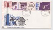 Archipel Des Comores - Dzaoudzi - Premier Jour 1966 - FDC - Fusée Diamant - Satellite - Africa
