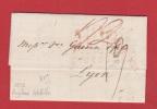 Lettre   //  De Londres  //  Pour Lyon   //  10 Septembre 1833 - Postmark Collection