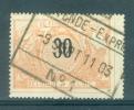 """BELGIE - OBP Nr TR 19 - Cachet  """"OSTENDE - EXPRES Nr 1"""" - (ref. AD-1139) - 1895-1913"""