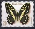 Ruanda 1979: n� 868 ** (Papillon) - TBE