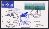 """ANTARCTIC, AAT, MACQUARIE,7.JAN 1996, Stopover M/V""""POLAR BIRD"""", 4 Cachets , Look Scan !! 18.11-23 - Antarctische Expedities"""