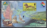 Falkland Islands 2001 Hong Kong M/s ** Mnh (26201B) - Falklandeilanden