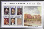 Falkland Islands 2000 Kings And Queens Trhoughout The Ages M/s ** Mnh (26201D) - Falklandeilanden
