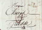 1047# 33 AGDE 22 * 11 Mm 1808 HERAULT LETTRE - Marcophilie (Lettres)