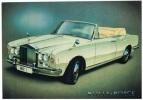 """AUT-L68 - FRANCE Obl. Temporaire """"Mondial De L'image Des Sports Automobile Sur Carte Rolls-Royce - Cars"""