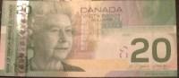 CANADA 20 Dollars 2008 VF P103e - Canada