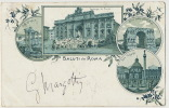 Pionniere Saluti Da Roma Stamped 1900 - Autres