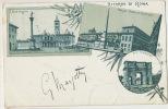 Pionniere Ricordo Di Roma Stamped 1900 - Autres