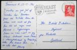 Denmark 1965  Christmas Cards  Minr.429y IKAST 23-12-1965  ( Lot 1353 ) - Lettres & Documents