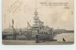 """CHERBOURG - Port Militaire Et Arsenal, """"le Jemmapes"""" Cuirassé D'escadre. - Guerre"""