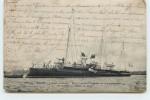 """BREST - L'Aviso-torpilleur """"Salve"""" Portant Le Guidon De Commandement De La Défense Mobile De Brest. - Guerre"""