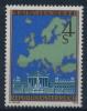 **Österreich Austria 1978 ANK 1606 Mi 1574 (1) KSZE Map Of Europe MNH - 1945-.... 2ème République