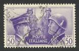 Italy, 50 C. 1941, Sc #416, Mi # 626, Used. - 1900-44 Vittorio Emanuele III