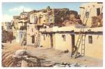 A-52, Postcard, Hopi Indian Pueblo - Native Americans