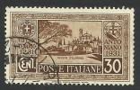 Italy, 30 C. 1931, Sc # 260, Mi # 364, Used - 1900-44 Vittorio Emanuele III