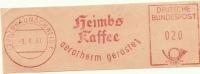 Nice Cut Meter  Heims Kaffe Aerotherm Geroster, Braunschweig 9/8/1961 - Dranken